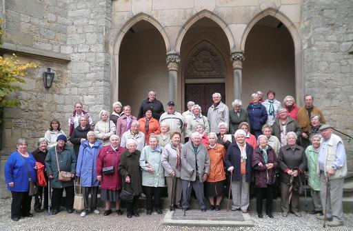 Seniorenkreis auf der Marienburg