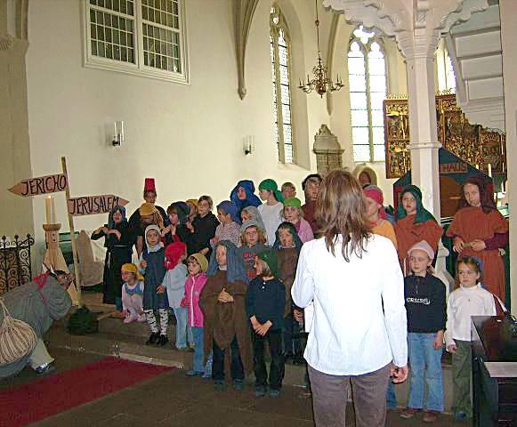 Kinder- und Jugendchor - der barmherzige Samariter