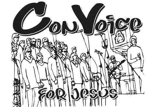 "Emblem des Gospelchores ""ConVoice for Jesus"""