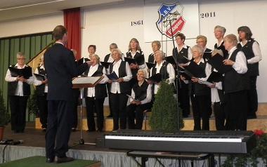 Kirchenchor beim Jubiäum des ABV Eldagsen