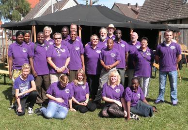 Partnerschaftsfoto - Eldagsen und Tansania-Besuch