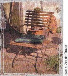 ein leerer Stuhl