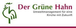"Banner ""Grüner Hahn"""